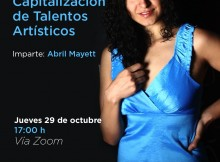 Invita Secum a conferencia de Capitalización de Talentos Artísticos