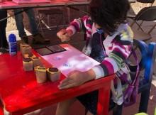 En calle Nigromante, taller de gráfica para niños y jóvenes